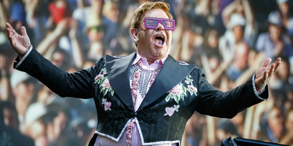 Elton John Konsertbuss